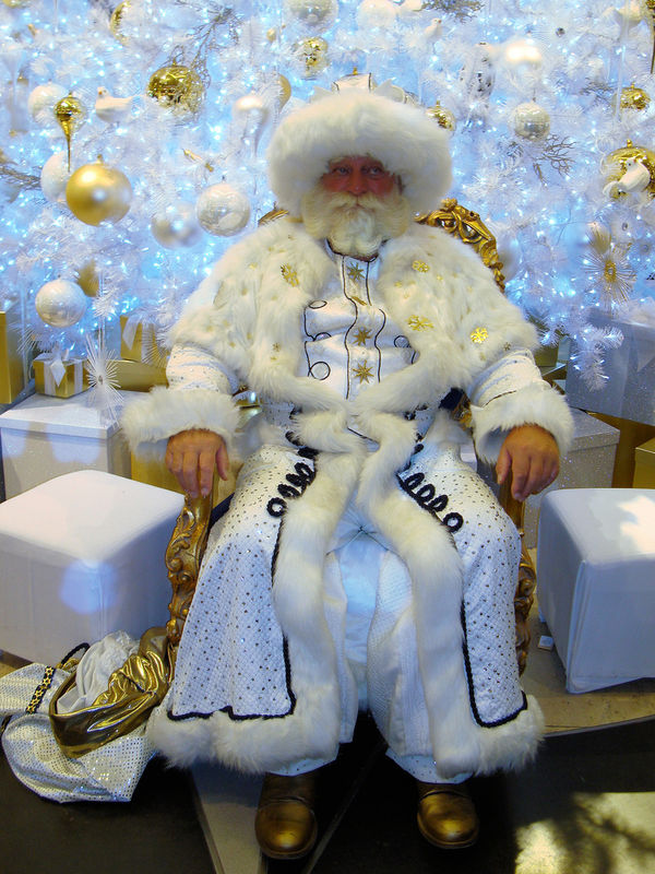 Two German Santa Clauses