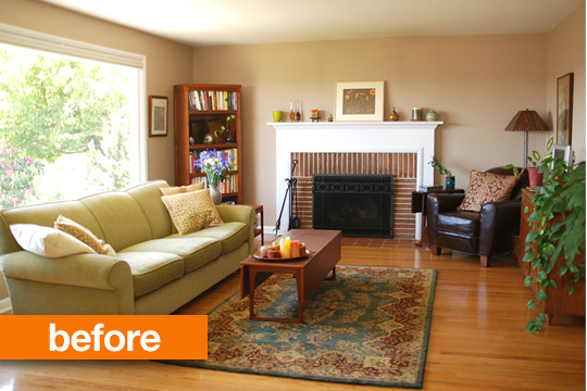 This Living Room Make Over Is A Great Example Of Changing The Feel Of