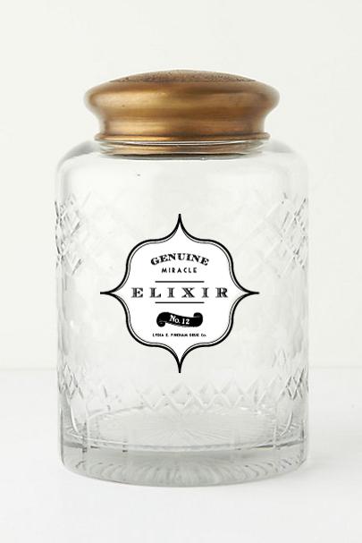 Diy Vintage Apothecary Bottles Free Label Download